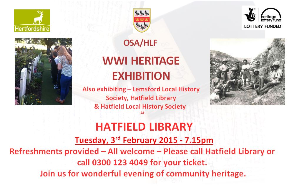 Hatfield Library Exhibition
