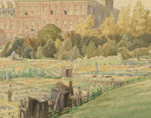 Kensington Palace and Allotments © IWM (Art.IWM ART 1127)