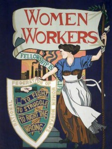 Banner of the National Federation of Women Workers © People's History Museum