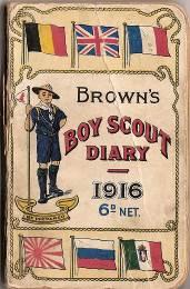 Boy Scout Diary 1916