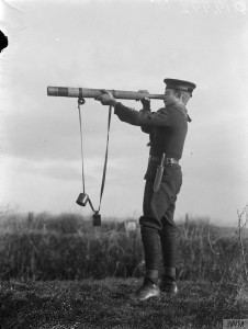 A Sea Scout on lookout duties Image courtesy of Imperial War Museum © IWM (Q 19992)