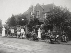 Croxley Green Red Cross VAD Hospital Image courtesy of Three Rivers Museum
