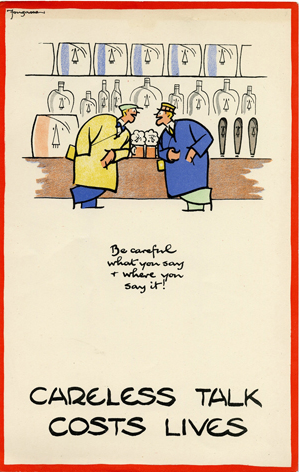 Cyril Bird (Fougasse) is probably best known for his 'Careless Talk Costs Lives' series of Second World War posters. He began his career as a cartoonist for Punch in 1916.