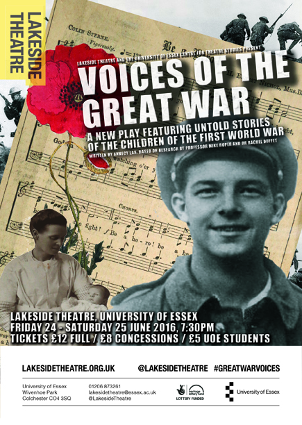 A5 Flier - Voices of the Great War_sml