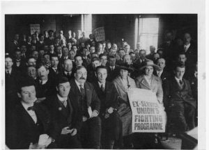 Meeting National Union of Ex-Servicemen, c.1920 (People's History Museum, Manchester)